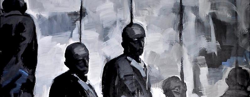 Die Kunst als Sprachrohr und ein Mensch, derbewegt