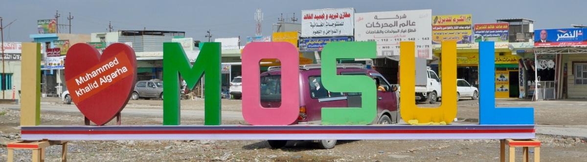 Mossul: das Leben gehtweiter