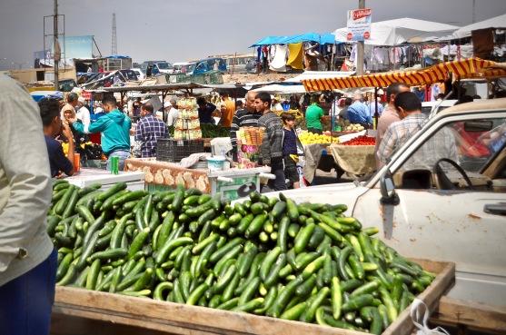 Marktleben in Ost-Mossul