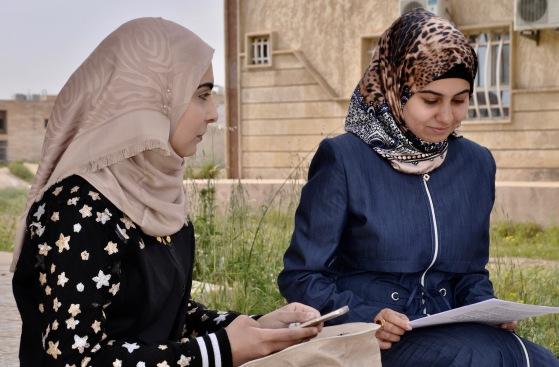 Medizinstudentinnen in Ost-Mosul.