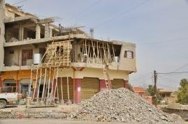Der Wiederaufbau schreitet voran in Ost-Mosul.