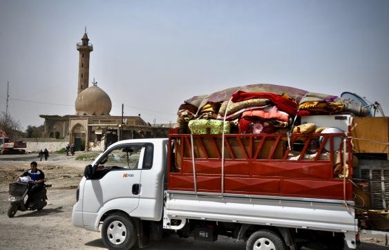 Rückkehrer nach Mossul