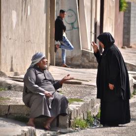Unterhaltung in Mosul