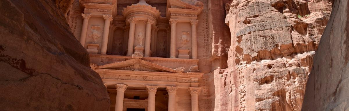Petra: Eine Stadt aus Fels gemeißelt