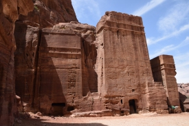 Grabstätten in Petra