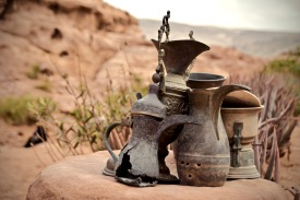 Stilleben hoch über Petra