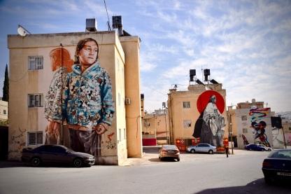 11 Faszinierende Wandmalereien in Amman. Das jährliche Street Art Festival organisiert von Baladk macht es möglich.
