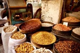 14 Der Duft frisch gerösteter Nüsse: eines meiner Lieblingsgeschäfte im Stadtzentrum von Amman.