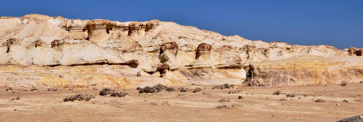 Fotostrecke: Wadi Dahek – die weißeWüste
