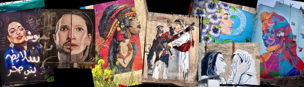 Kunst für alle auf Amman'sStraßen